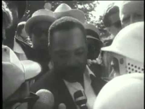 Dr. King - Housing March in Gage Park Chicago, 1966