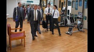 Президент Татарстана Рустам Минниханов посетил Сингапур