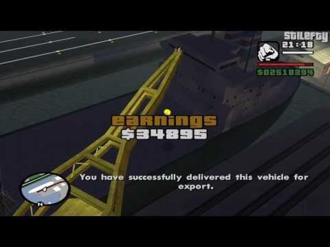 GTA San Andreas - Import/Export Vehicle #16 - Tanker
