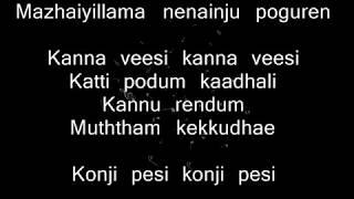 Download Lagu Kadhal Ondru Kanden - Kanna Veesi Instrumental | Karaoke with Lyrics mp3