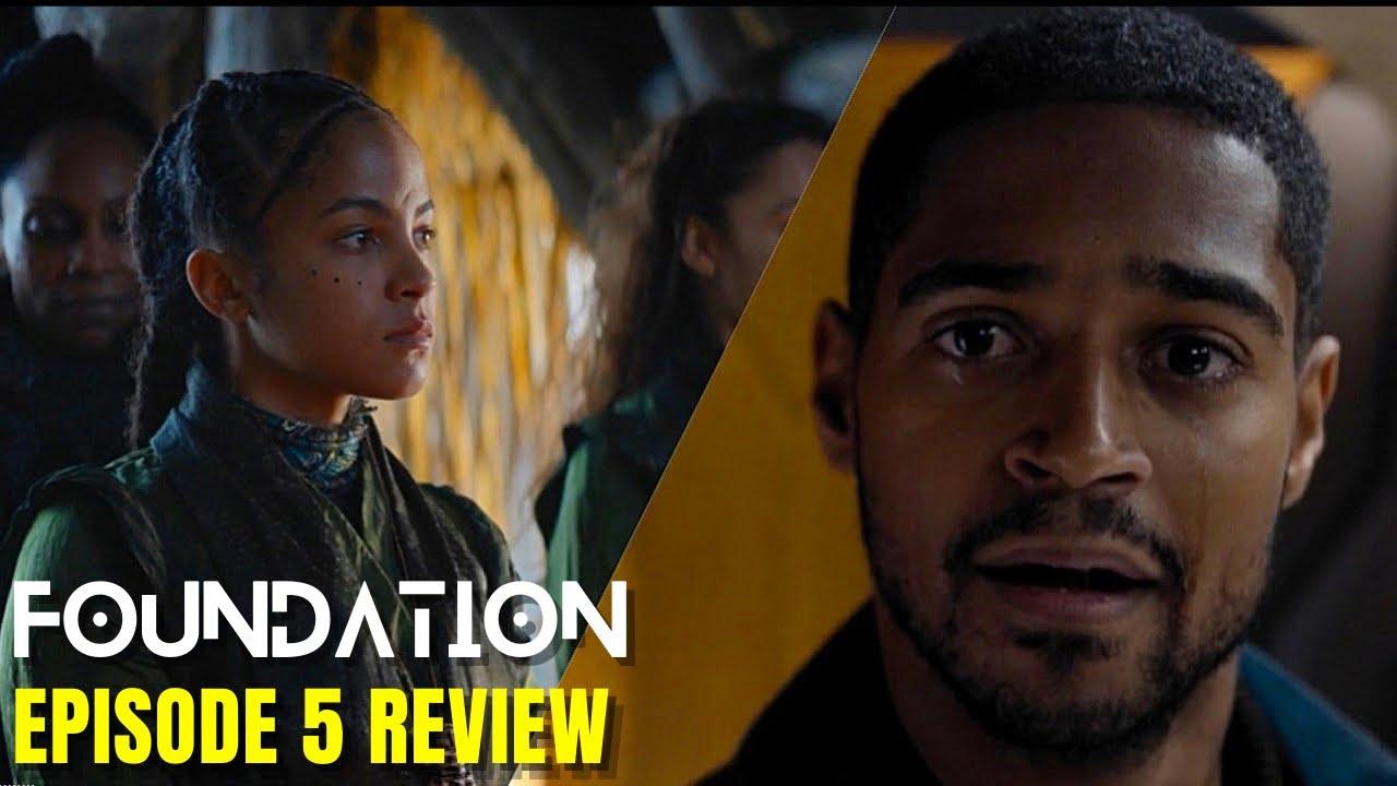 "Download Foundation Apple TV+ Episode 5 Review ""Upon Awakening"""
