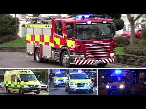 Emergency Services Responding - BEST OF JANUARY + FEBRUARY 2017 -