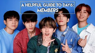 A Helpful Guide to DAY6: Introduction to Members