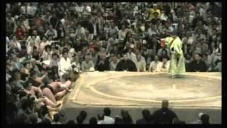 稀勢の里 × 大砂嵐 2015/5/16 大相撲 夏場所 7日目 ハイライト 大関貴ノ...