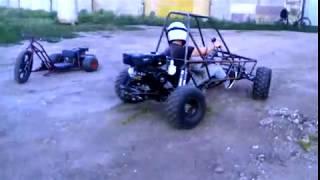 Средний Багги WRMmotors  1й выезд