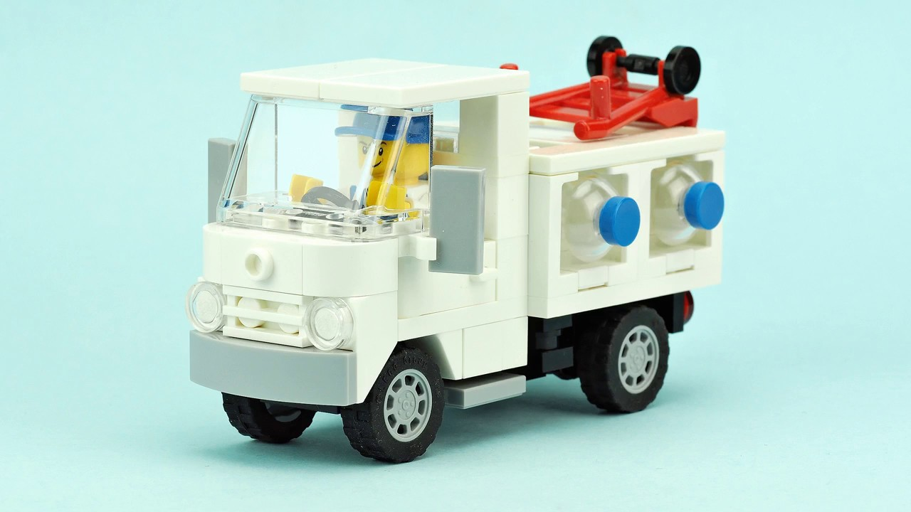 LEGO Water Truck. MOC Building Instructions - YouTube
