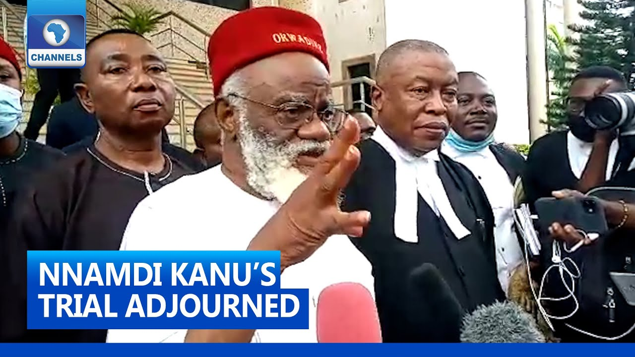 Download Kanu's Lawyer, Ex-Governor Express Anger After DSS Fails To Produce Him In Court