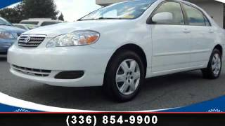 2007 TOYOTA COROLLA - Crown Honda Greensboro - Greensboro,