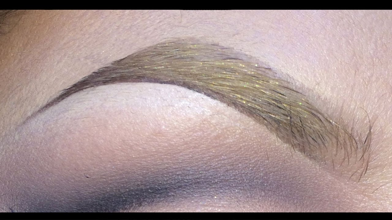 Create bold dramatic eyebrows in four simple steps with.