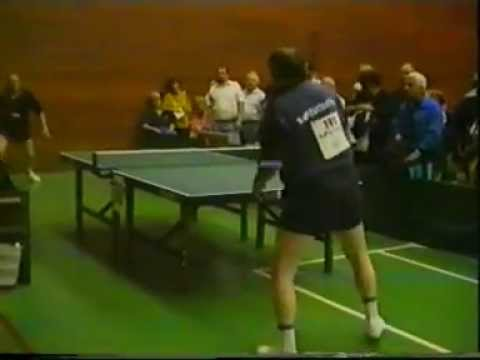 Veterans European Ch. Prague 1997 Exhibition and match TT-Show with Dragutin Surbek
