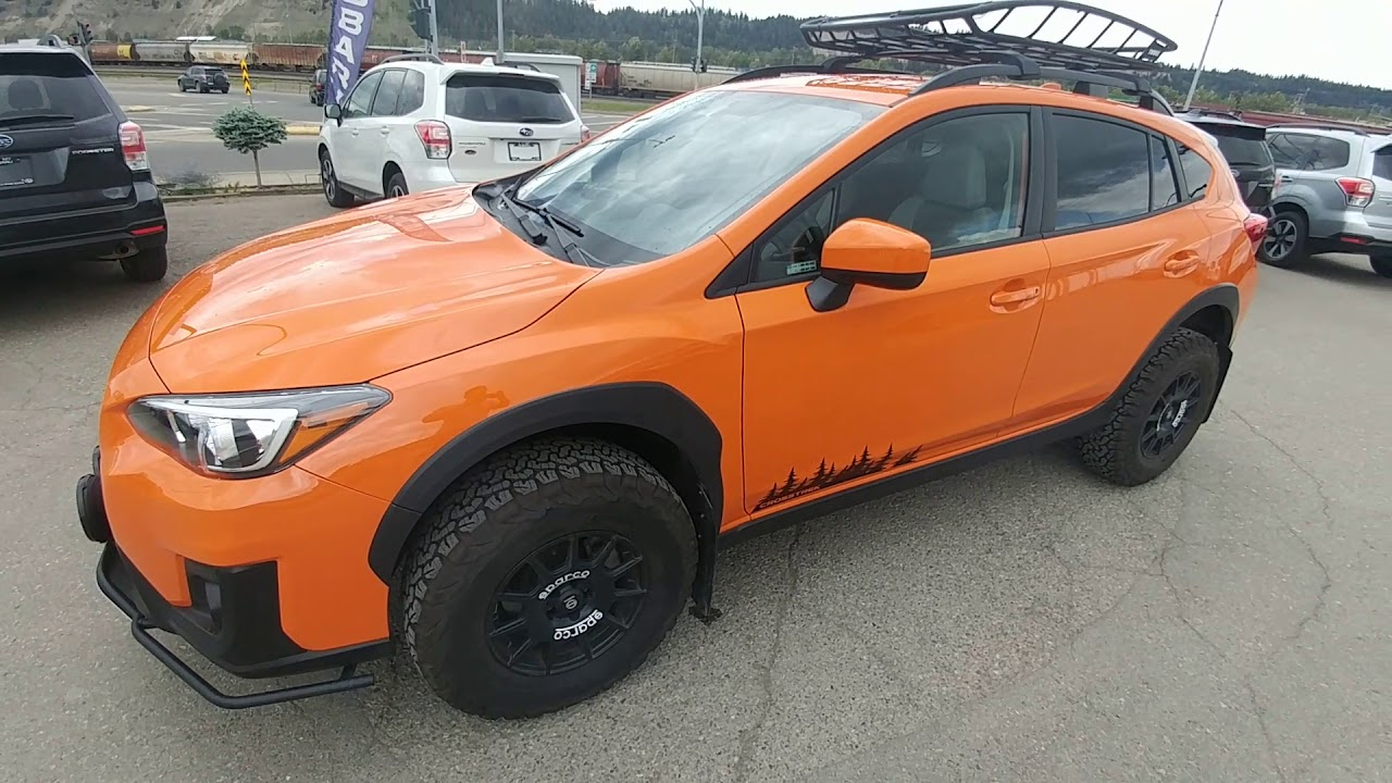 Lifted 2018 Subaru Crosstrek Youtube
