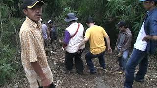 Eskavasi Teras 1 sisi Timur situs gunung Padang Cianjur