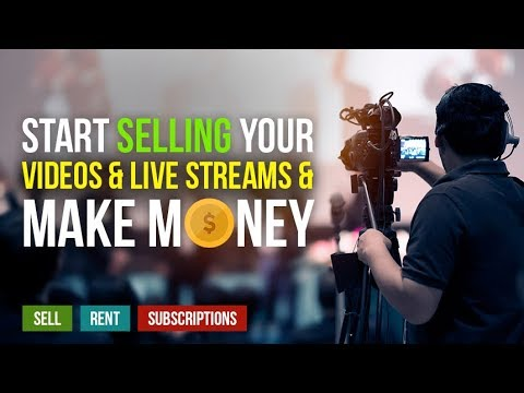 Create a Pay Per View (PPV) online Video Channel and make money $$$