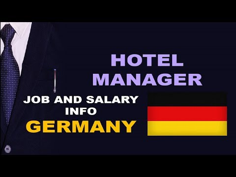 Hotel Manager Salary In Germany - Jobs And Wages In Germany