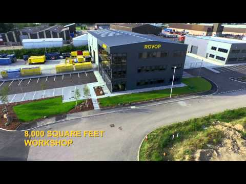 ROVOP headquarters drone footage July 2015