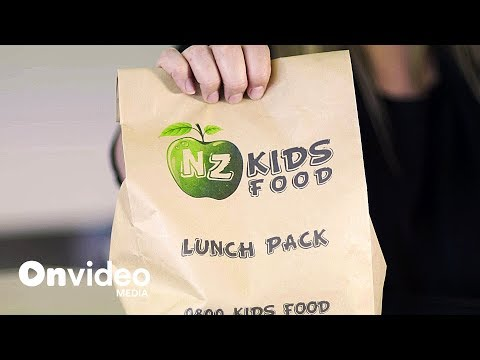 NZ Kids Food - Working With On Video Media