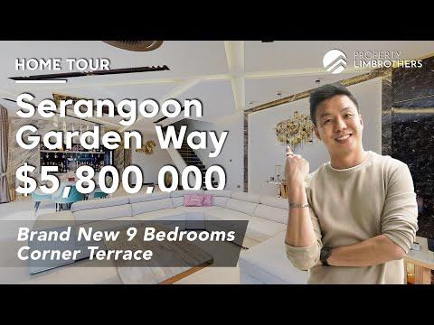 Serangoon Garden Way Landed Property | Newly Rebuilt 2-Storey Corner Terrace in District 19 $5.8M