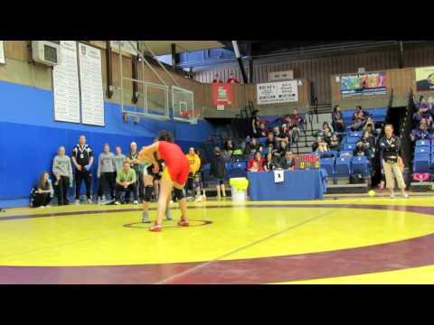 CIS Championships 2012: 51 kg Madison Parks vs. Katie Dutchak