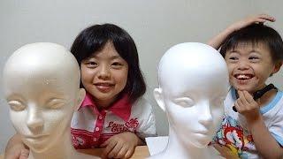 リアル マネキンにママを描くよ!I draw a picture on the mannequin thumbnail
