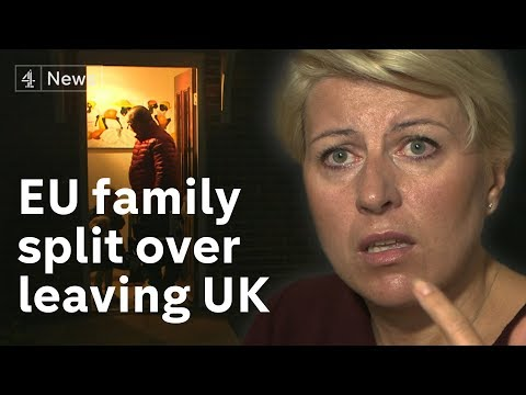 The Polish family divided over leaving the UK during Brexit