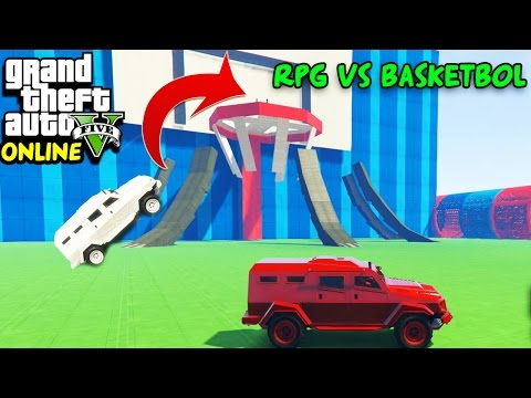 ROKET ATAR VS BASKETBOL! | EKİPLE GTA 5 ONLINE