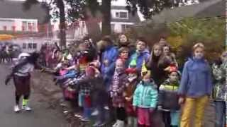 aankomst sinterklaas school obs de duizendpoot oosterhout