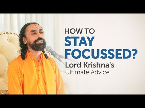 The 1 Secret to Stay Focussed on your Goals Always | Swami Mukundananda