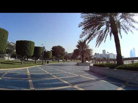 Abu Dhabi Corniche Walk