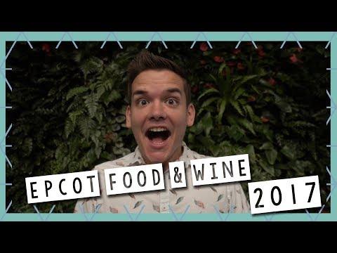 Epcot Food & Wine Festival 2017 | Walt Disney World Vlog September 2017