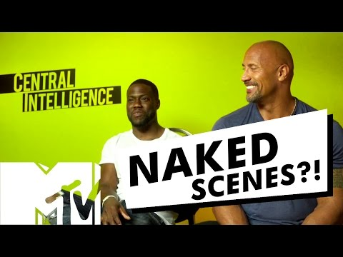 Kevin Hart & Dwayne Johnson's NAKED Central Intelligence Deleted Scene | MTV