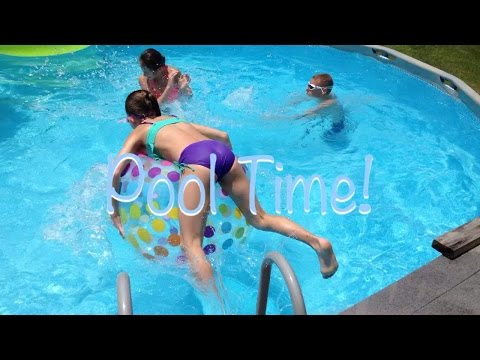 Pool Time with Cameron and Tiffany! | OMG Tumblers