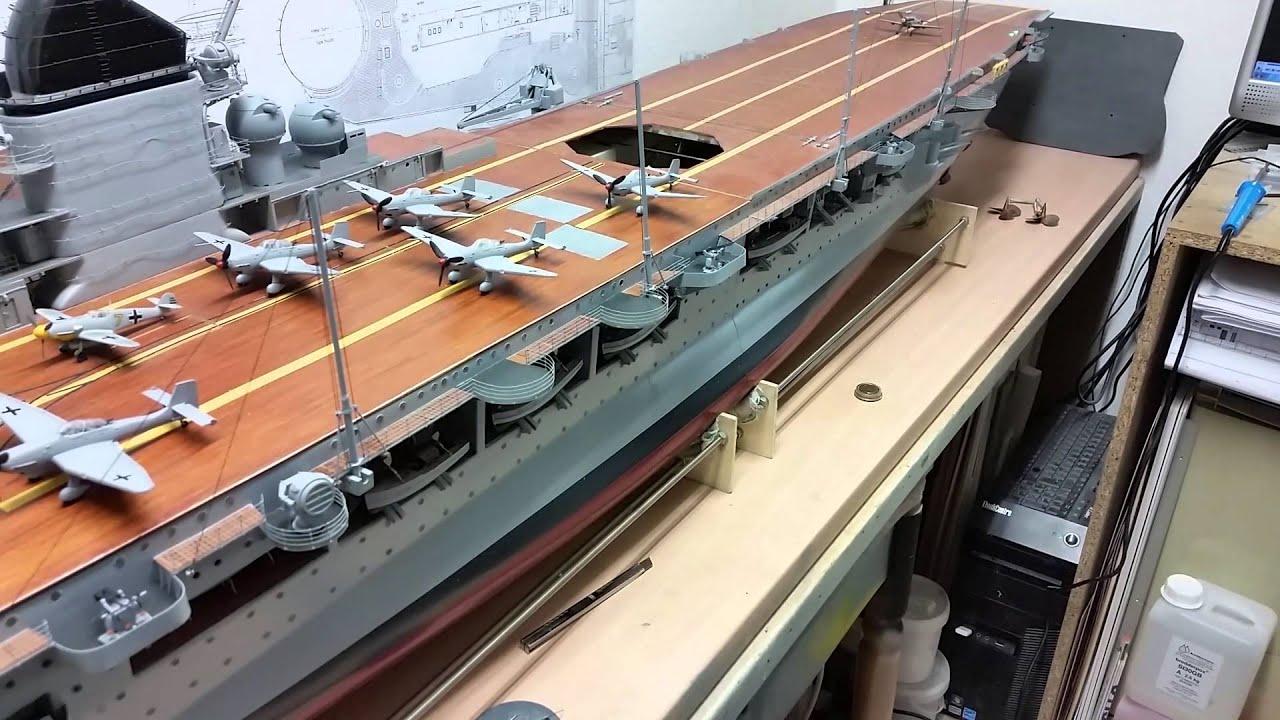 1 modellbau rc flugzeugtr ger graf zeppelin 1 100 youtube. Black Bedroom Furniture Sets. Home Design Ideas