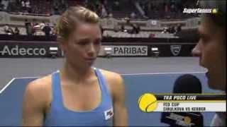 [Fed Cup 2014] Camila Giorgi domina Madison Keys pt.2