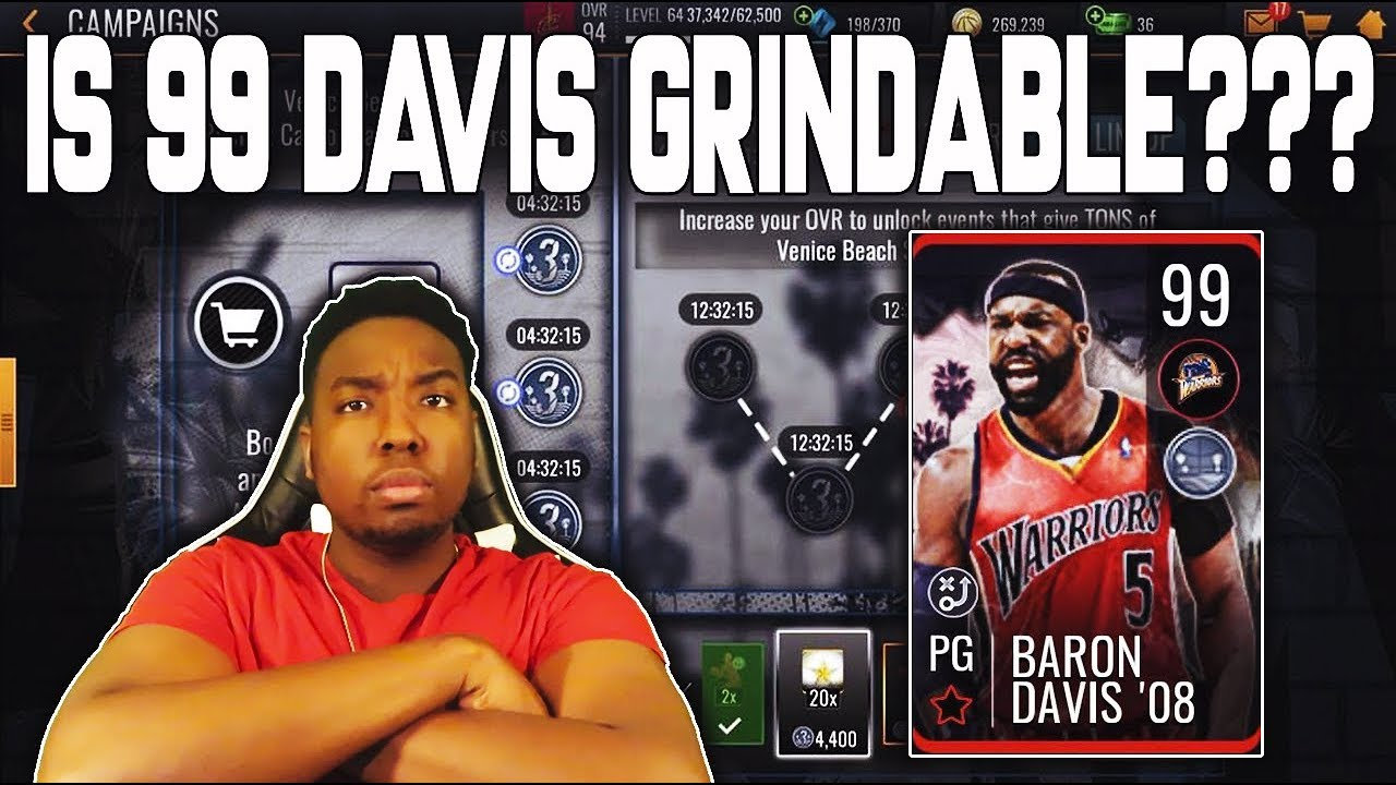 0e1cc518344 NEW 3V3 EVENT BREAKDOWN - HOW TO GET 99 BARON DAVIS FREE TO PLAY IN NBA  LIVE MOBILE 19!!!