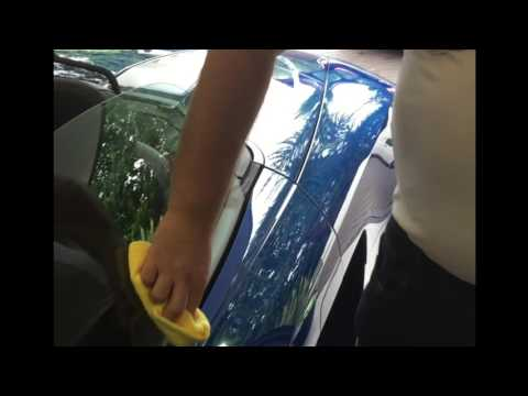 Aqueous Auto Guard AU3 Glass Coat - Application Video