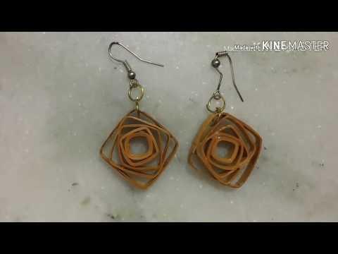 DIY :: quilling earrings