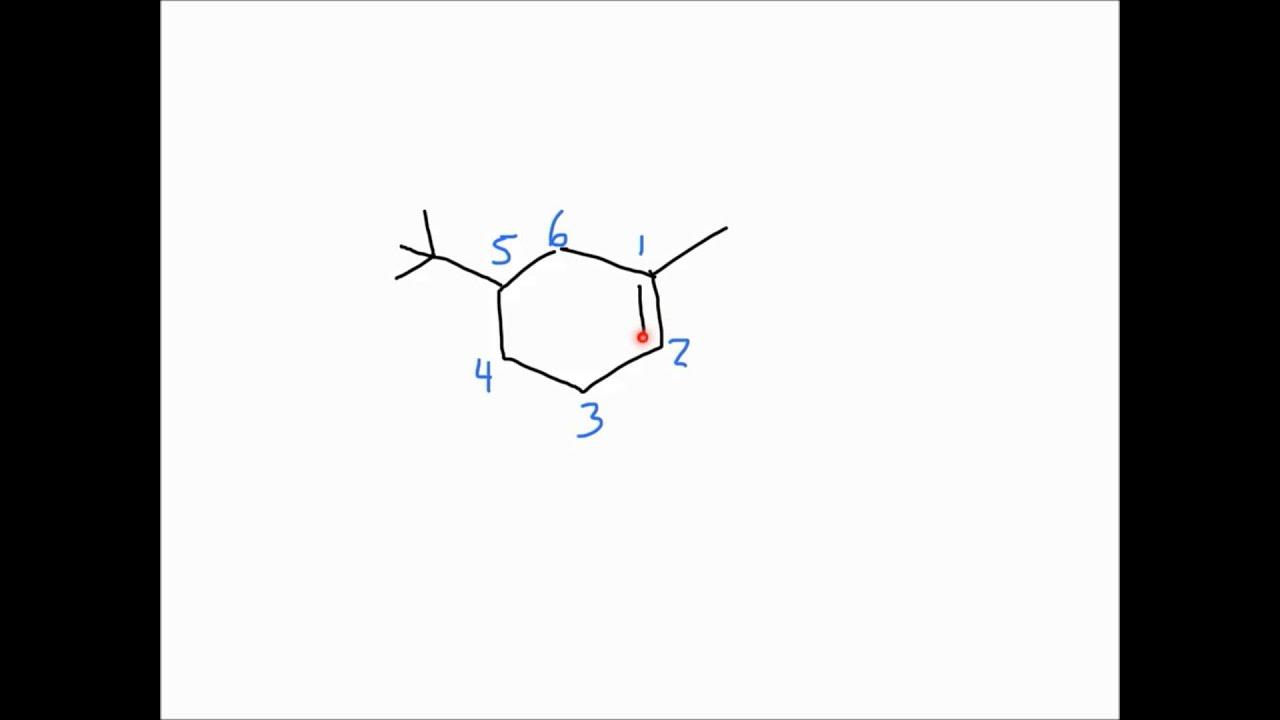 Alkene Nomenclature Practice Problems