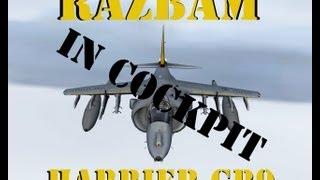 FSX Razbam Harrier GR9 in Cockpit