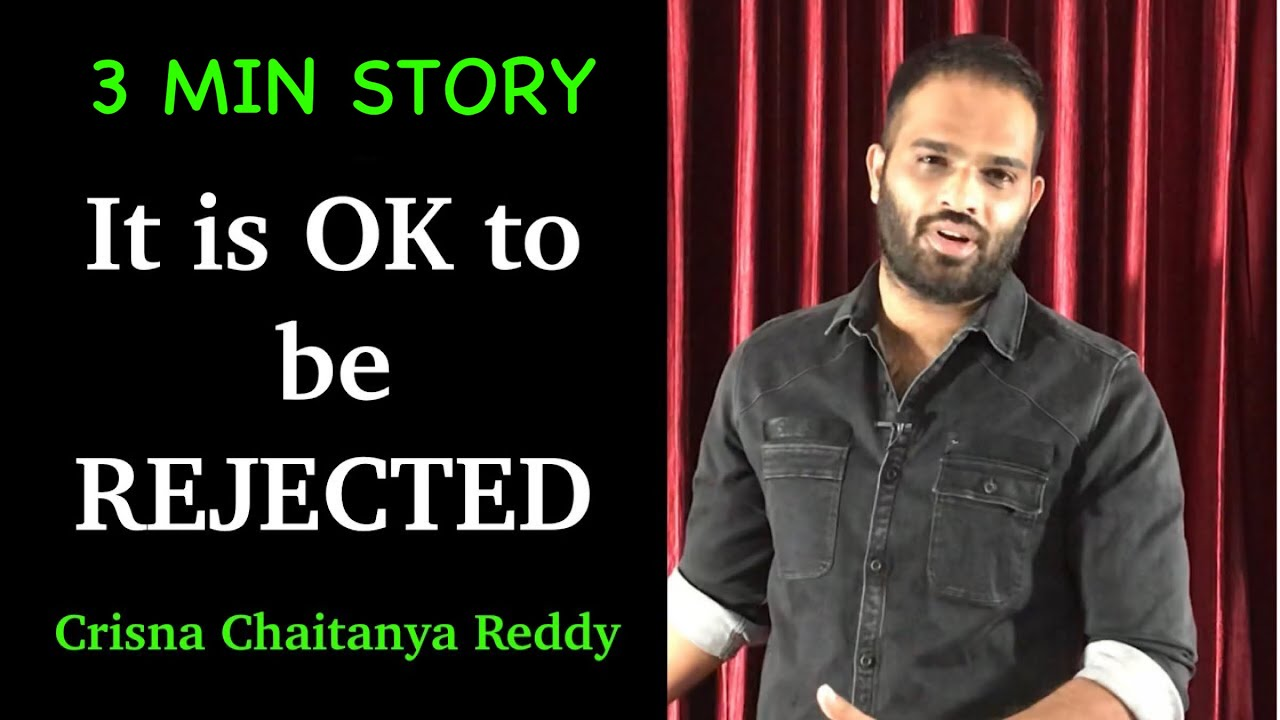3 MIN LIFE CHANGING STORY in ENGLISH | Crisna Chaitanya Reddy | Stories Create U | createu.nity.app