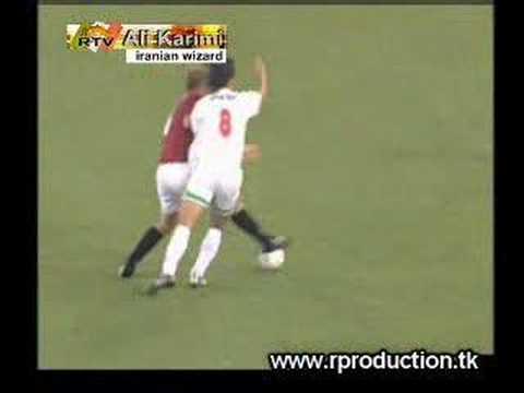 Ali Karimi vs Roma
