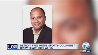 Workers remember Detroit Free Press Sports Columnist Drew Sharp
