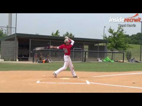 Trent Harris - Baseball Recruiting Video - Rawlings Prospects NC - www.insiderecruit.com