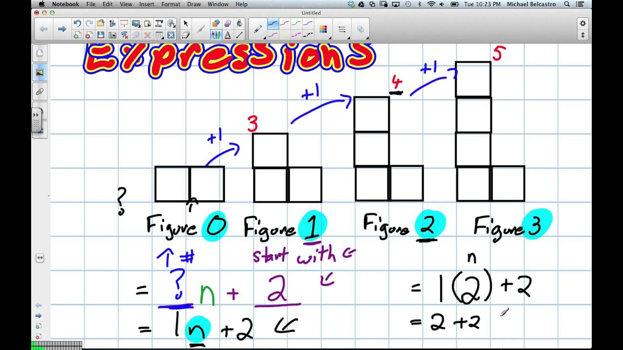 hight resolution of Solving Algebraic Expressions (Grade 8 Nelson Lesson 8.3 4 9 13) - YouTube