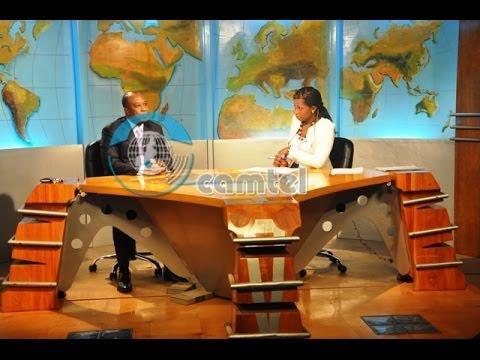 Interview du Directeur Général sur le plateau du JT de la Cameroon Television