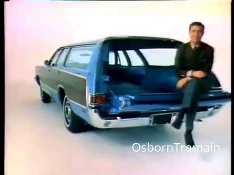 1969 Plymouth Sports Suburban Wagon Commercial with Dwayne Hickman