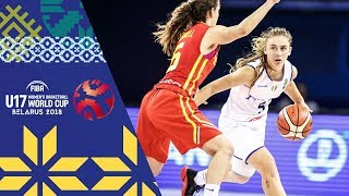 Japan v Spain - Full Game  - Class 5-8 - FIBA U17 Women's Basketball World Cup 2018