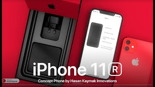 Apple iPhone 11R / iPhone Pro XR 2019 • OFFICIAL DESIGN ANIMATION   4K ►DBHK & Enoylity Technology
