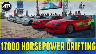 Forza Horizon 2 Online : 17000 HORSEPOWER DRIFT LOBBY 2.0!!! (Let