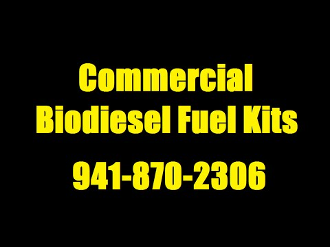 Commercial Biodiesel Fuel Kit