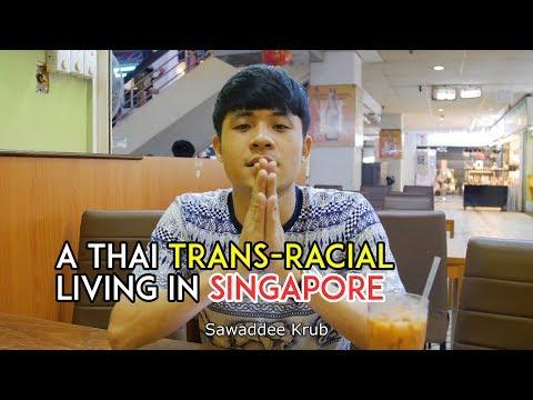 A Singaporean man who thinks he is Thai!